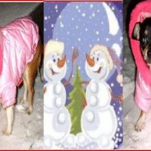 kendra et shana dans la neige