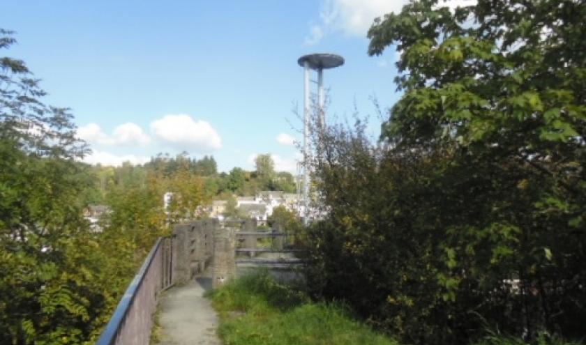 La tour du rocher Kerger est a Houffalize ce que la tour Eiffel est a Paris.