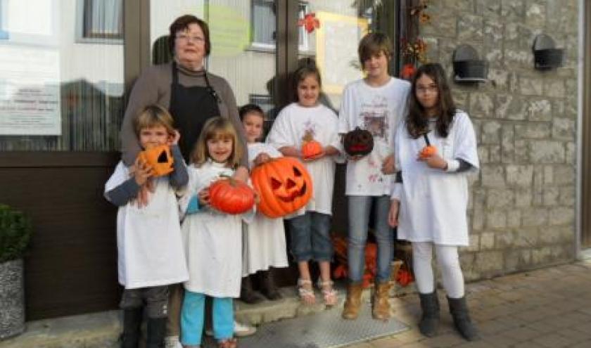 Patricia Lemaire et ses artistes: Halloween, jour J moins 15