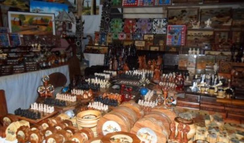 Tananarive, artisanat, marche Pochard