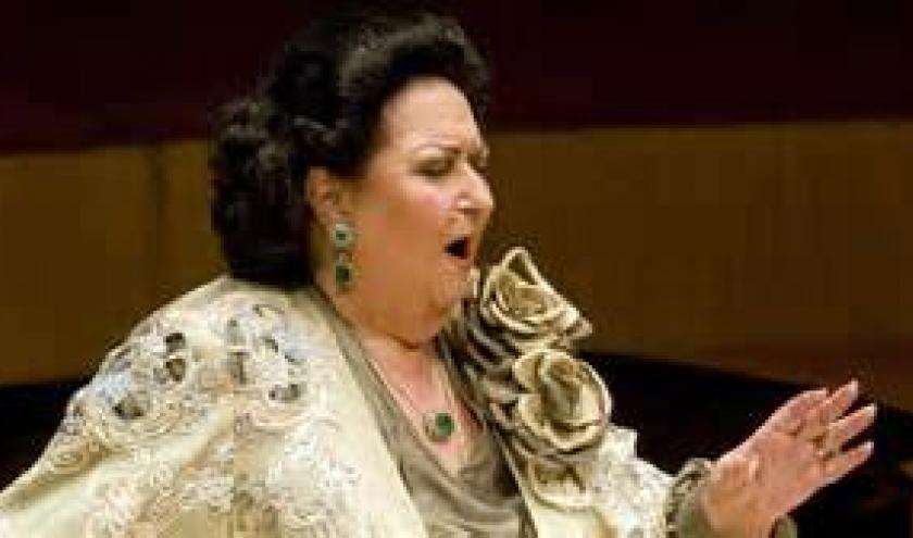 "Montserrat Caballe, ""la superba""."