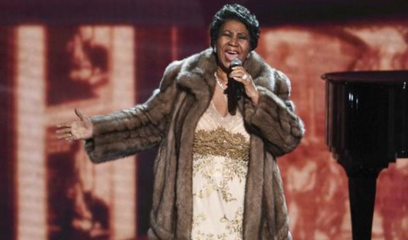 Aretha Franklin, une présence scenique inoubliable.