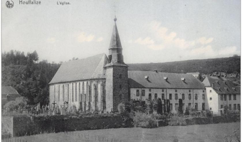 1 Eglise, Vieux cimetiere, Presbytere avt g.