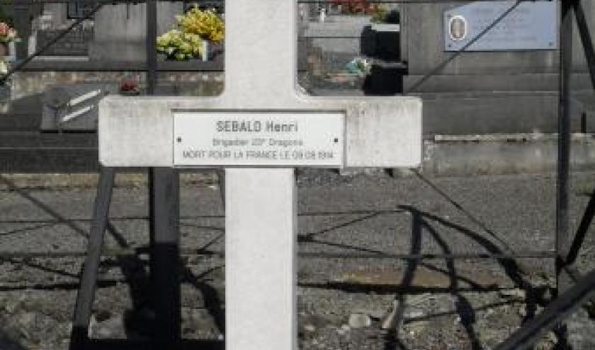 La tombe de Henri Sebald
