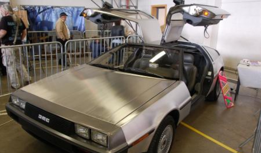 Voiture Back to the Future