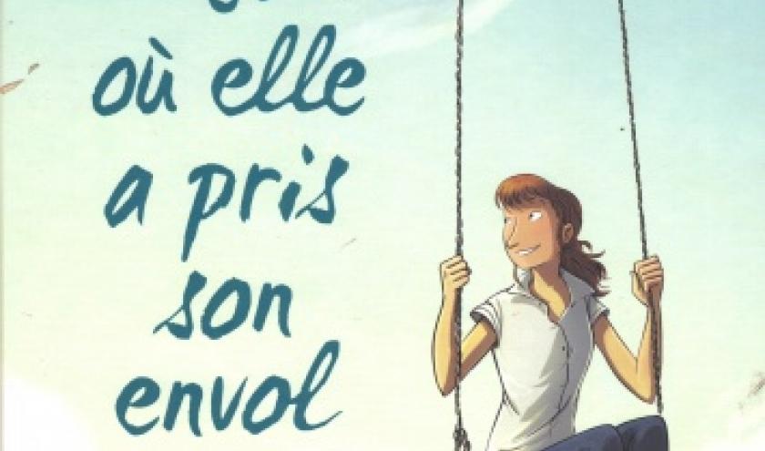 LE JOUR OÙ ELLE A PRIS SON ENVOL, aux éditions Bamboo
