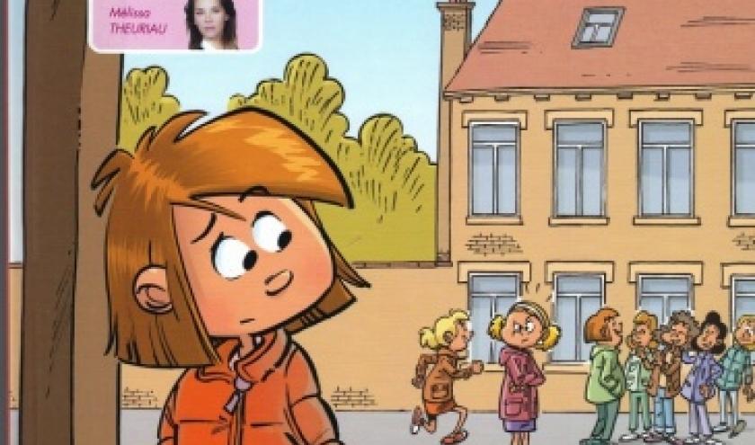 La première bande dessinée sur le harcèlement scolaire : SEULE A LA RECRE