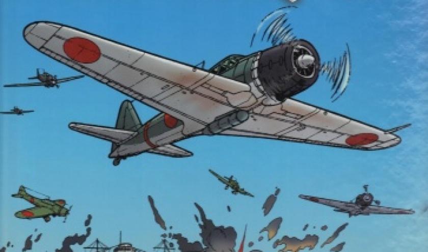 Les Reportages de Lefranc ,Tome 5 : La Guerre du Pacifique chez Casterman