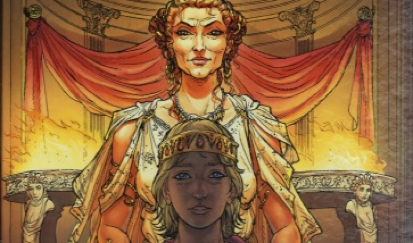 Reines de sang - Les trois Julia . Tome 1. La princesse de la poussière