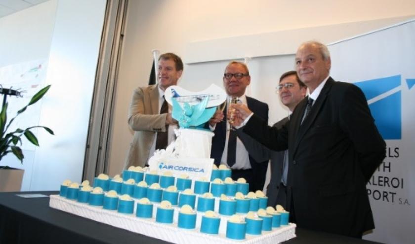 Bastia et Ajaccio au départ de Charleroi : Air Corsica démarre ses opérations depuis/vers BSCA