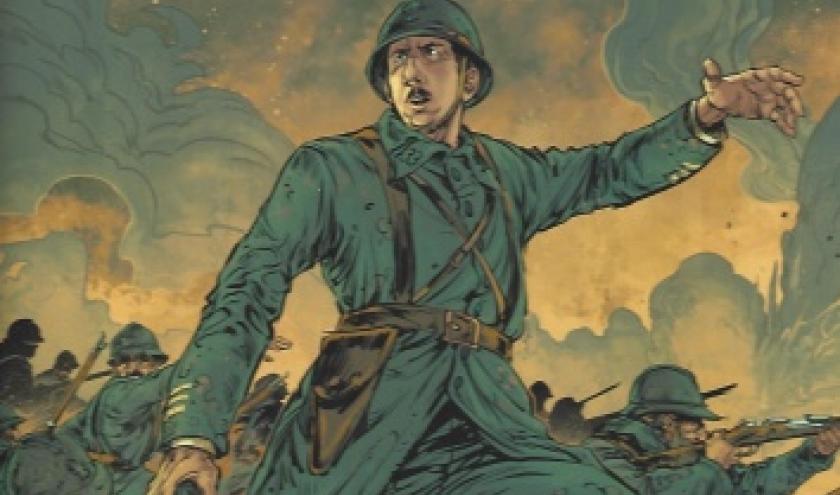 De Gaulle en BD. L'un des plus grands hommes d'état français.