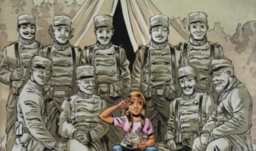 La petite fille qui voulait voir la guerre