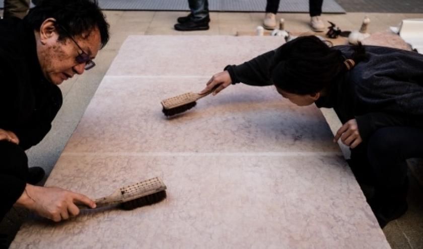 La technique de l'estampage chinois à l'honneur au Musée Art & Histoire