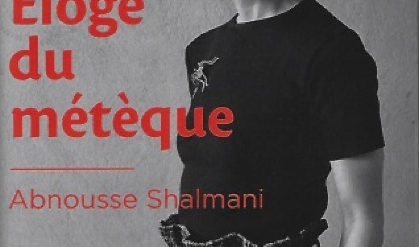 Eloge du métèque, essai littéraire par Abnousse Shalmani