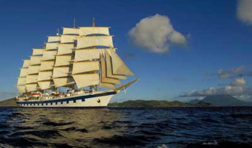 Cruisen onder de Caribische sterrenhemel met de luxueuse Star Clipper.