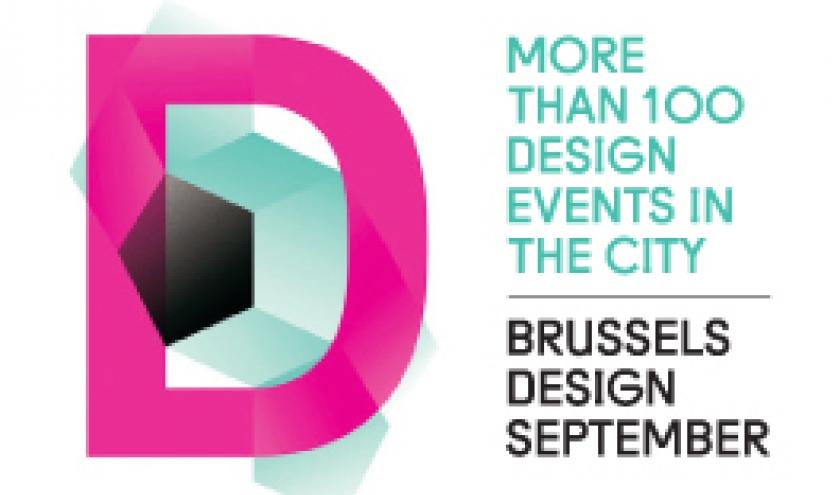 Brussels Design September 2013, van 5 tot 30 september 2013