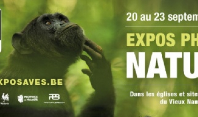 "15ième ""Expos Photos Nature"", à Namur, du 20 au 23 Septembre"
