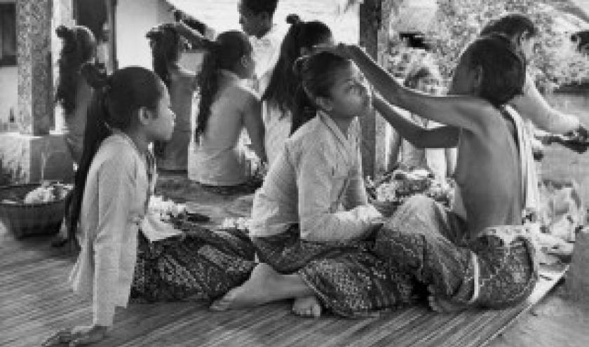"""1949/Ubud/Avant la Danse Baris (c) Henri Cartier-Bresson/""""Magnum"""""""
