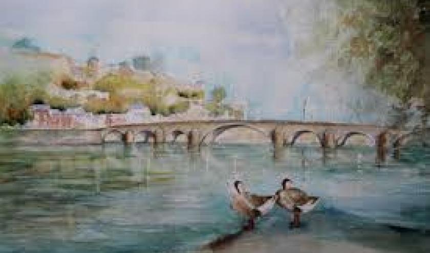 Vieux Pont de Jambes et Citadelle de Namur