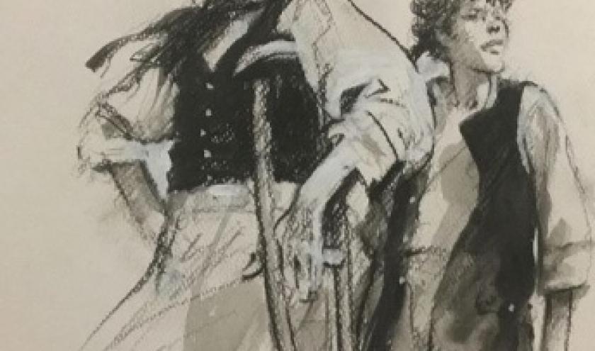 """Illustration pour l """"Ile au Tresor"""" (c) Rene Follet"""