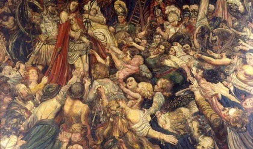 """""""Le Christ aux Outrages"""" (1889, huile sur toile, 293 x 353 cm) (c) Palais du Roure/Avignon"""