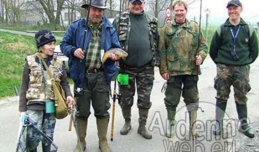 1er concours de pêche de Benonchamps sur la Wiltz