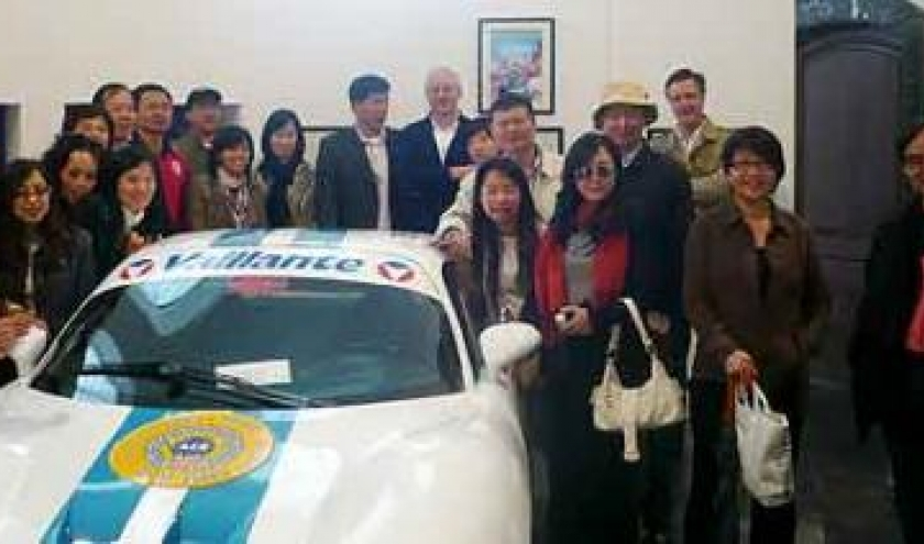 touristes,chinois,Stavelot