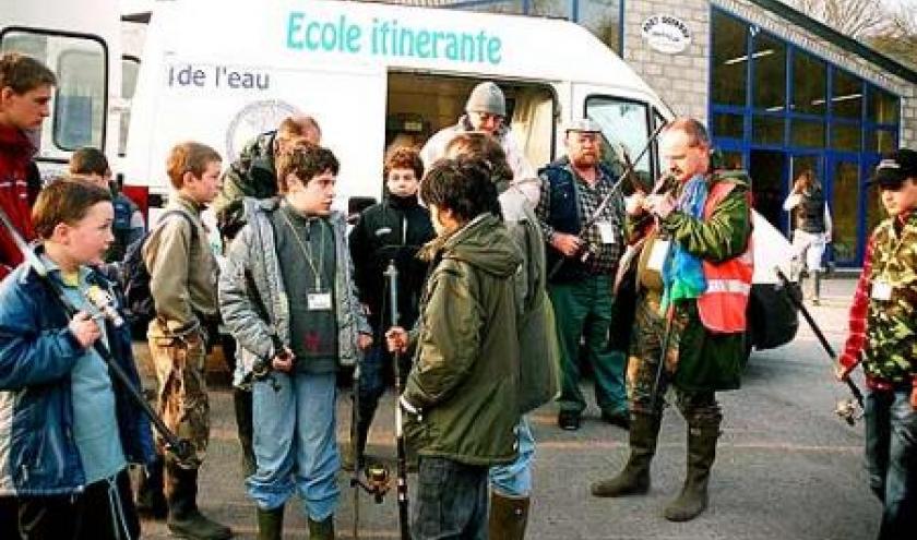 Stage d'initiation à la pêche en Ardenne