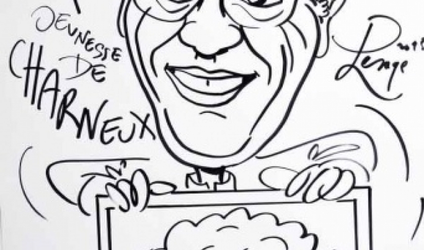 Charneux caricature