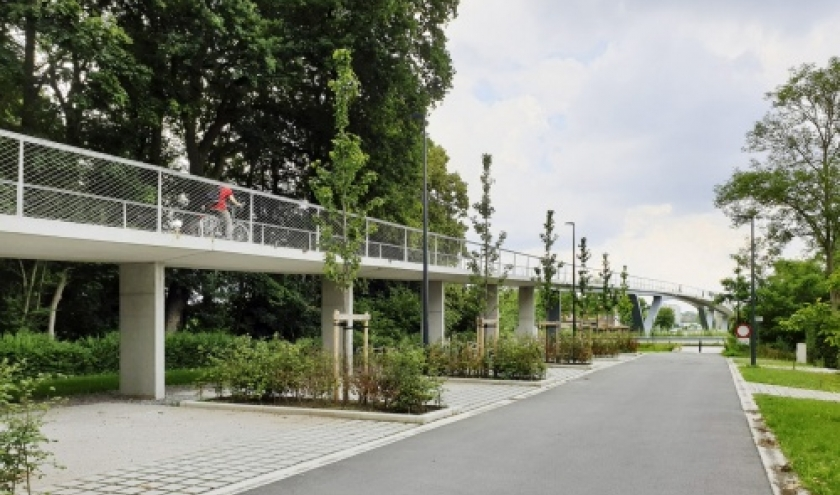 Gand-passerelle-Parkbos-Gent