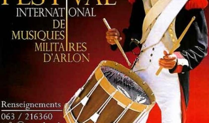 25 mai Arlon. Festival de Musiques militaires