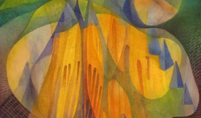 De Compostelle a Lavaux-Ste-Anne avec le peintre Marcel Lucas