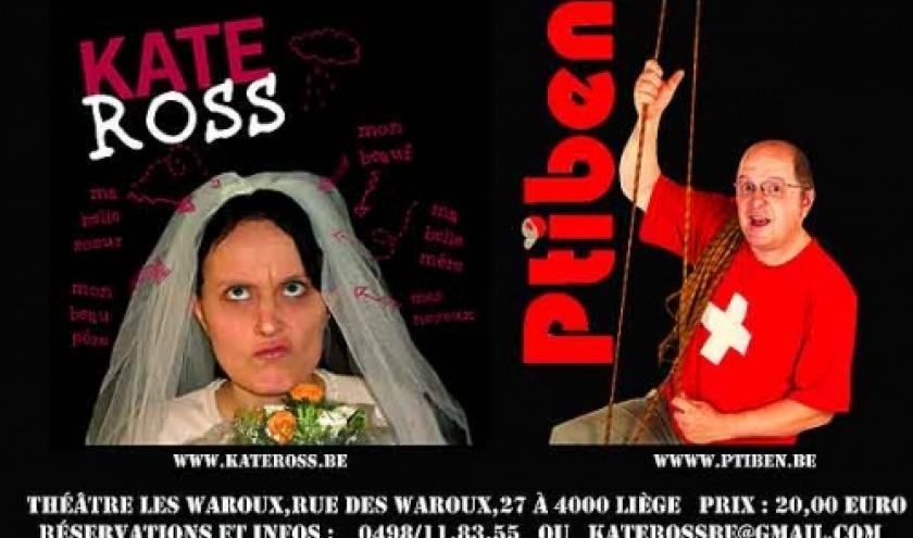 Kate Ross et Ptiben  le 31 decembre a LIEGE