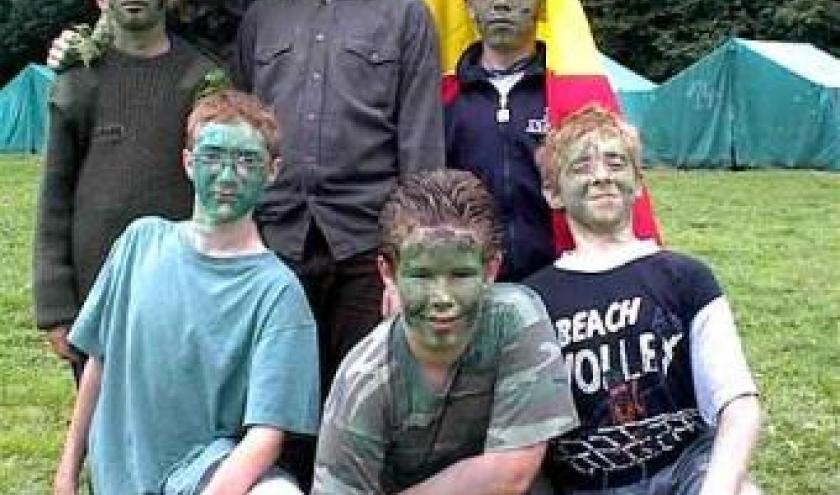 Avec les Castors. Un Camp pour forger la Jeunesse