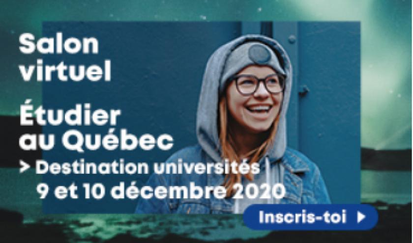 ETUDIER AU QUEBEC EN 2021