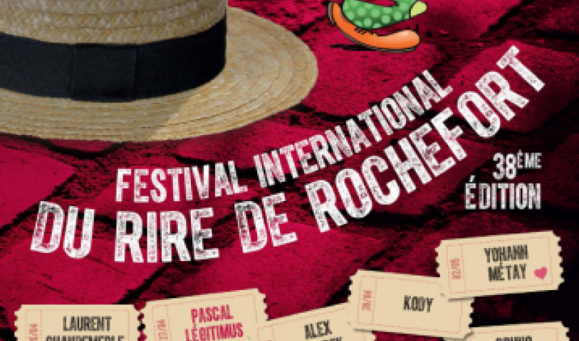 Festival International du Rire de Rochefort 2018