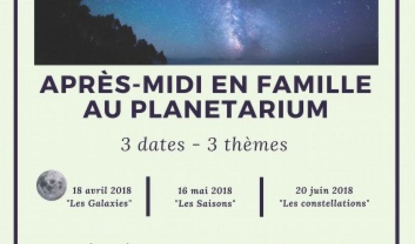 14h, Planetarium public Observatoire Centre Ardenne