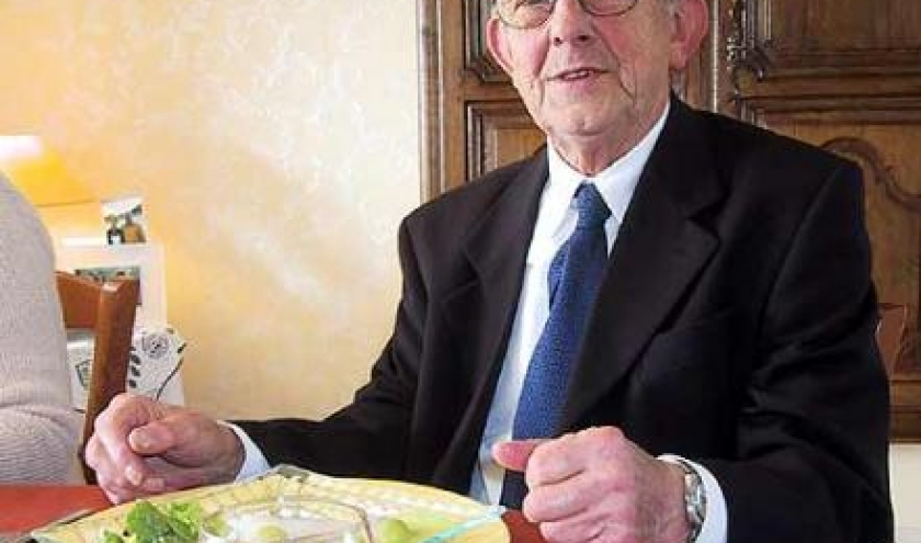 Houffalize le 7 mai 1928 . Louis Daulne . Liege le 11 avril 2008