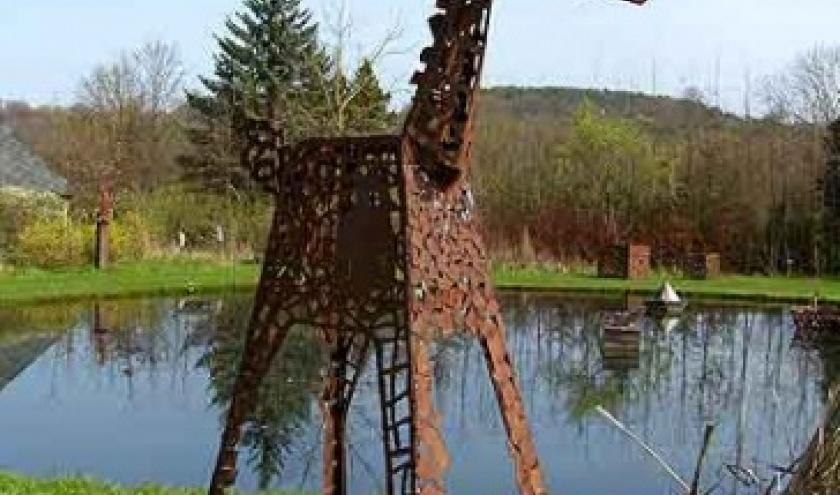 PAS a PAS, sculptures et fontaines en plein air