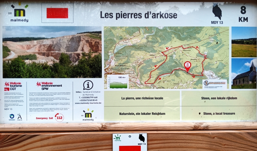 MDY 13 «  Les pierres d'arkose »