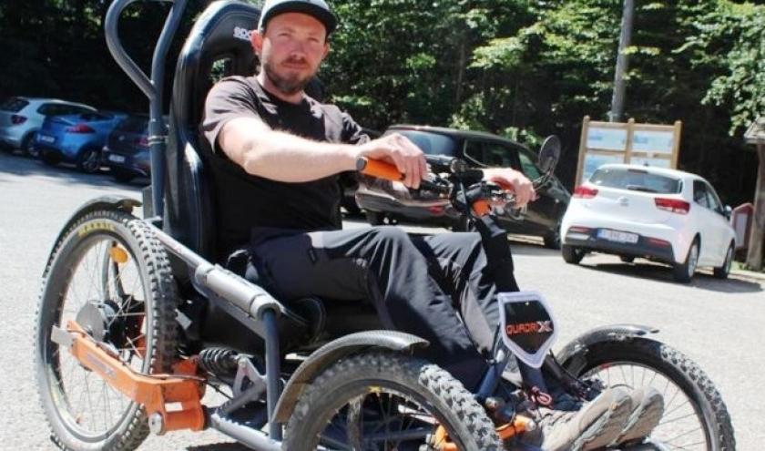 Le véhicule Quadrix pour PMR