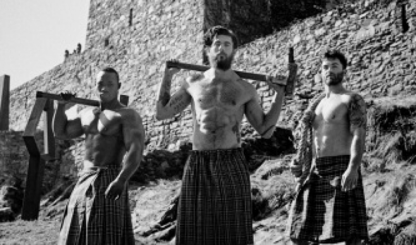 1ère édition du Highland Clash ( parcours d'obstacles )