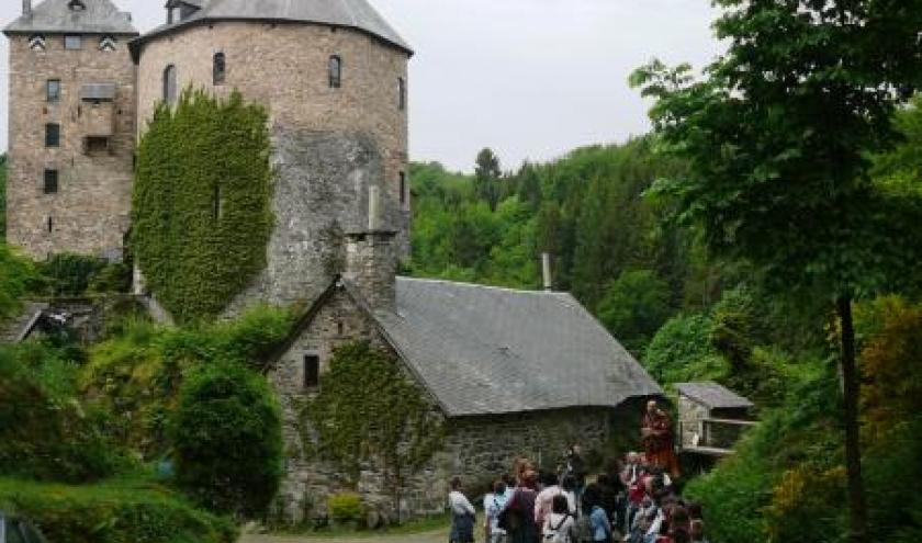 Visite du chateau de Reinharstein