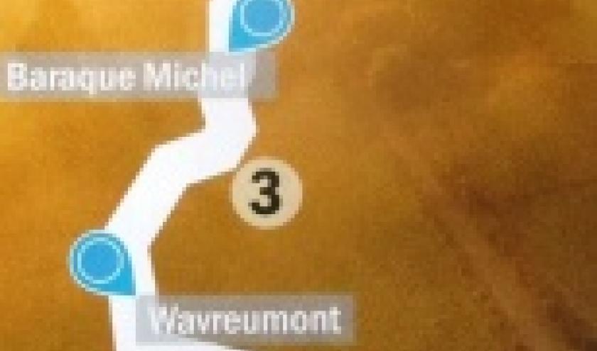 Le parcours de 120 km
