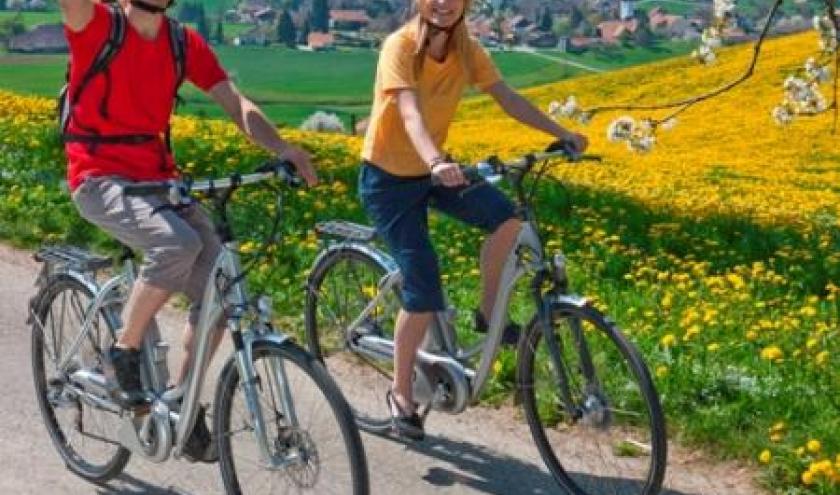 Cantons de l'Est                  Les Cantons de l'Est deviennent une région E-Bike