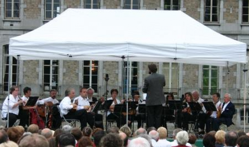 Prestation du Cercle Royal des Mandolinistes aux reputees Nuits de Beloeil, en aout dernier.