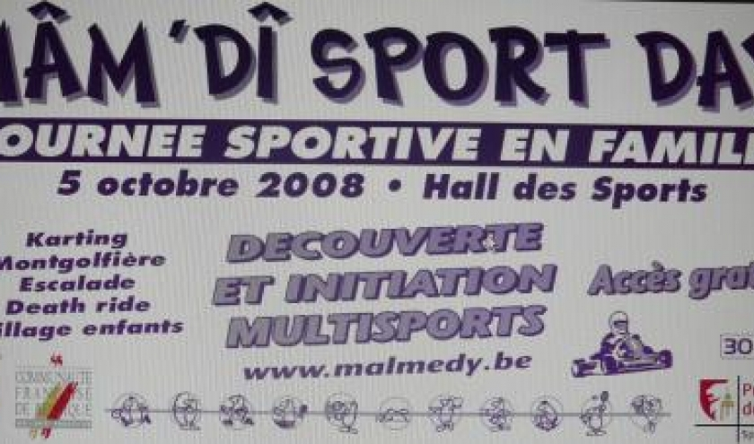Malmedy      5 octobre 2008      Mâm'di Sport Day