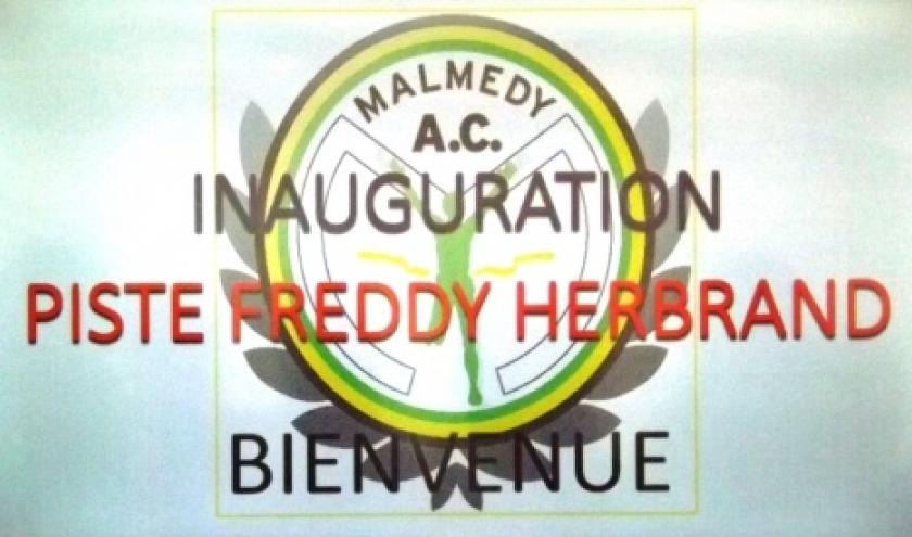 La piste Freddy Herbrand, nouvel outil performant pour l'AC Malmedy, est enfin inaugurée