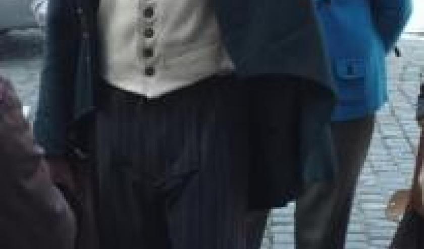 Michel Jaspar dans le role de Cesar Franck