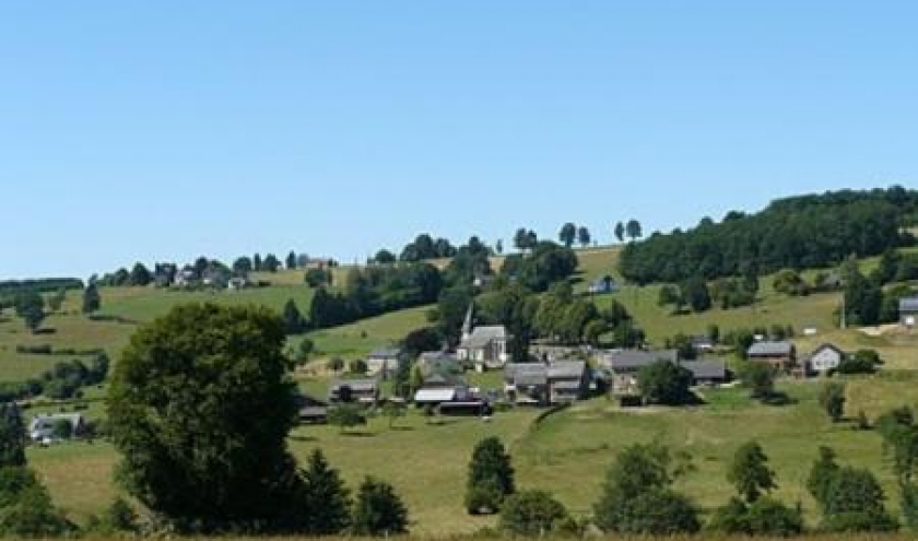 Le village de Bellevaux ( Malmedy )